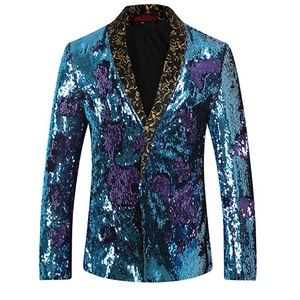 d2b42908 Jackets & Coats | Elton John Style Sequined Jacket Life Is A Party ...